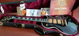 "2006 Gibson Les Paul Custom  R7 VOS "" Black Beauty""+Case+CoA"