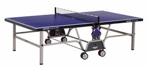 Retail $1,350 Kettler Master Pro 2 Outdoor Table Tennis +Paddles