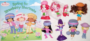 Strawberry Shortcake Spring For Book & 8 Toy Figures (Lot #7) London Ontario image 1