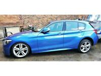 2012 (62 reg) BMW 116D M SPORT , 58K , STARTS , DAMAGED REPAIRABLE SALVAGE