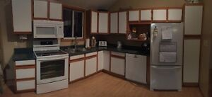 Cabinets Counter Top and Sink for Sale