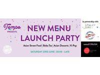 Tempo Menu Launch Party