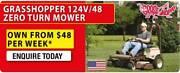 Commercial Grass hopper Zero Trun Mower Heatherbrae Port Stephens Area Preview