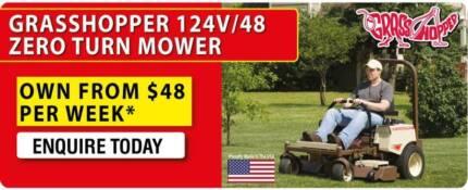 Commercial Grass hopper Zero Trun Mower