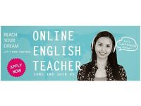 ONLINE ENGLISH TEACHERS NEEDED
