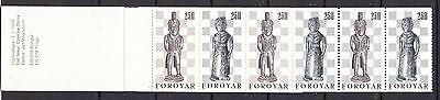 Färöer postfrisch 1983 Markenheft 1  Inhalt 3x MiNr. 82-83  Schachfiguren