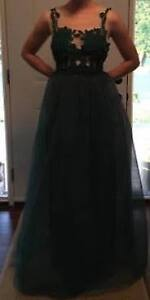 PROM DRESS, Brand New, Never Used, Emerald Green