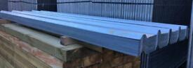 🔨 NEW GALVANISED BOX PROFILE ROOF SHEETS > VARIOUS SIZES