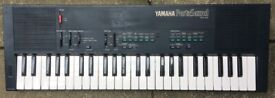 YAMAHA PSS-450 Music Station Portasound PCM Rhythm FM Synthesizer Keyboard