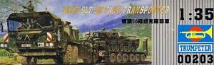 Trumpeter FAUN Elefant SLT-56 Panzer-Transporter 1:35 IFOR SFOR KFOR Tank Modell