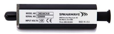 Spanawave Cns346c 10 Mhz To 26.5 Ghz Coaxial Series Noise Source 3.5 Male