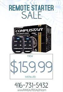 REMOTE STARTER INSTALLATION $59.99