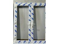 Brand new in packaging white double glazed French doors