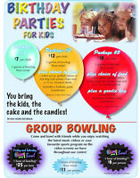 BOWLING BIRTHDAY PARTIES!
