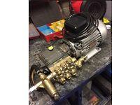 Hi Power Pressure Washer Interpump W140. 240v 3hp Electric Motor. QUICK SALE £60