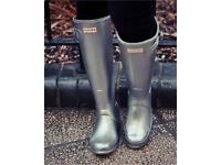 Ladies Hunter Tall Wellie Wellington Boots Size 4