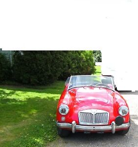 Looking to purchase a MGA convertable