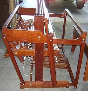 """Weaving Loom - Norwood 50"""" Cherry Wood - MINT CONDITION"""