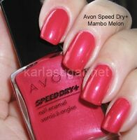 New In Box Speed Dry Nail Enamel Mambo Melon $5 No Tax