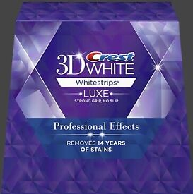 Crest Professional Effects 3D LUXE White Strips