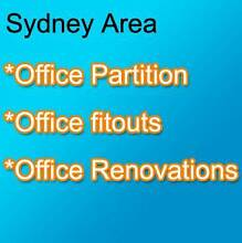 Sydney Office Partition Homebush West Strathfield Area Preview