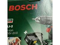 Bosch drill set psb 1800 cordless NEW