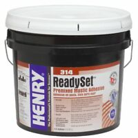 Premixed Adhesive 3.5 Gallon NEW