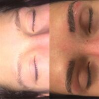 LASH EXTENSIONS/ EYEBROW MICROBLADING $180 FREE MOBILE SERVICE