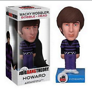 Big Bang Theory Wobble Head Figures
