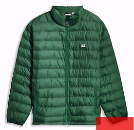 Levis Padded Packable Jacket Uk Small BNWT Green