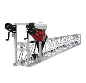 HOC VTS600 HONDA 9 HP CONCRETE VIBRATORY TRUSS SCREED + 32 FEET LONG + 1 YEAR WARRANTY + FREE SHIPPING