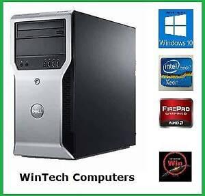 Dell Precision T1600 8GB Memory Mid Tower Computer