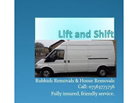 Man and Van Service- Courier- Delievery - Removals- Call 07563775756