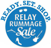 Relay Rummage Sale/Garage Sale, May 23, Milton
