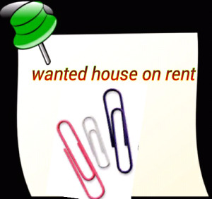 Wanted 1 or 2 room on Rent