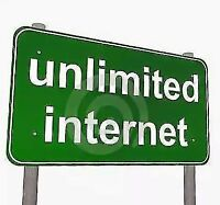 Unlimited Internet Service Cable Starting: $ 24.95 + Tax