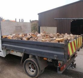 Kiln Dry Hardwood Logs Silver Birch Ash Oak Ready To Burn Dried Firewood Collection Or Delivery