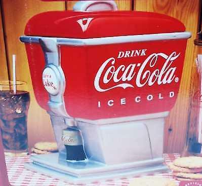 Coca-Cola Gibson Soda fountain Cookie Jar New in Box