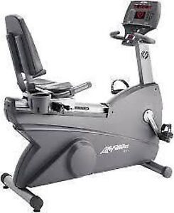 Various Life Fitness Commercial Recumbent Bikes