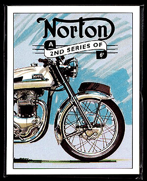 NORTON 2nd - Collectors Card Set - Dominator Commando Atlas Navigator P11 models