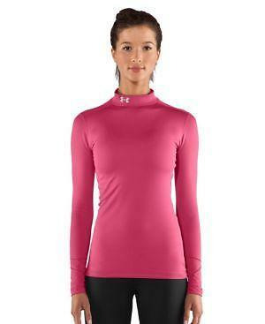 Womens under armour cold gear compression ebay for Under armour cold gear shirt mens