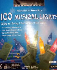 Charming Musical Christmas Tree Lights