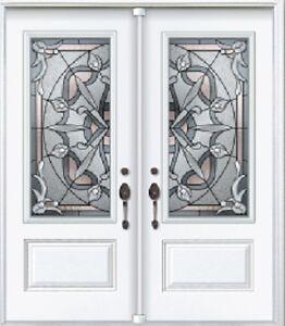 Double Front Door Entry