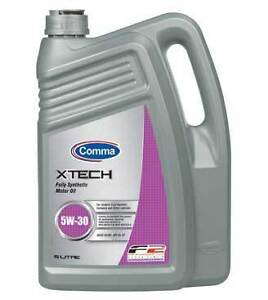 COMMA XTECH FULLY SYNTHETIC 5W-30 MOTOR OIL 5lt FORD ENGINES