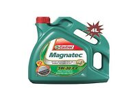 4 litres of castrol magnatec 5w- 30 c2 fully synthetic engine oil