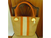 Orange and Beige Aldo handbag