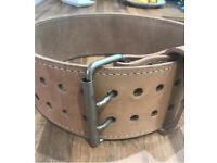 General leathercraft powerlifting belt for sale.