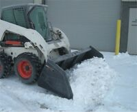Driveway and yard snow cleaning