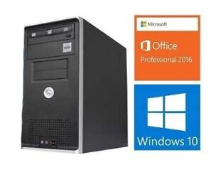 Desktop Gigabyte 3 Cores: 3.3GHZ, 8GB RAM, 500GB HDD, HDMI: 175$