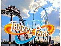 Thorpe park tickets for various dates in August 6th 7th 13th 14th 15th 20th 21st 22nd 27th